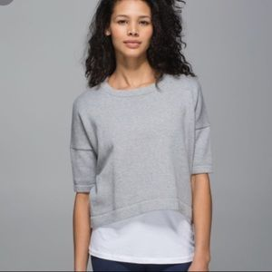 Lululemon l Bhakti Reality Cropped Sweater